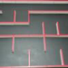 マイクロマウスのスラロームの調整方法を考える
